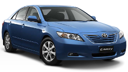 Family car hire, large, full size, Toyota Camry, Ford Falcon, Surfers Paradise, Gold Coast Airport.