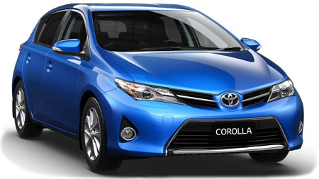 Compact car hire, cheap, medium, Toyota Corolla, Surfers Paradise, Gold Coast Airport, Brisbane Airport.