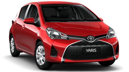 Subcompact car hire, small, Toyota Yaris, Nissan Micra, Surfers Paradise, Gold Coast Airport, Brisbane Airport.