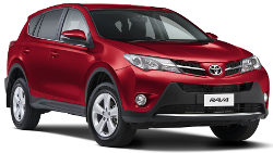 SUV car hire, Toyota RAV4, Surfers Paradise, Gold Coast Airport, Brisbane Airport.