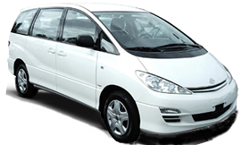 Cheap 8 seater car hire, Toyota Tarago, Surfers Paradise, Gold Coast Airport, Brisbane Airport.